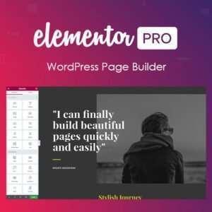 Diseñe, personalice y administre convenientemente los elementos esenciales de su sitio web en el Creador de temas de Elementor pro encabezado, pie de página